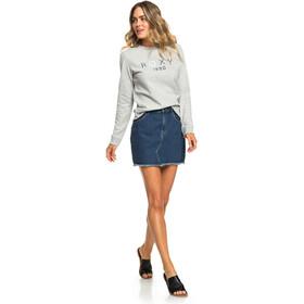 Roxy Eternally Yours B Camisa Fleece Cuello redondo Mujer, heritage heather